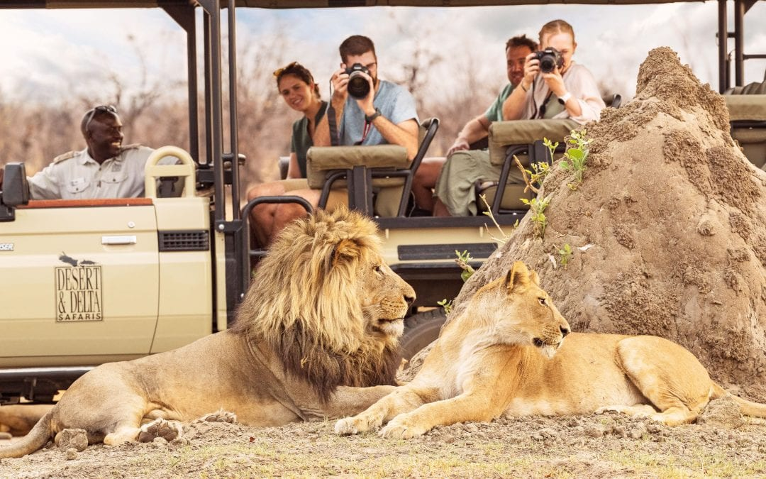DESERT & DELTA SAFARIS ANNOUNCES ITS AMAZING SIX-NIGHT COMMUNITY & CONSERVATION PACKAGE FOR SUMMER 2021 TO EXPERIENCE THE WONDERS OF THE DRY SEASON IN BOTSWANA